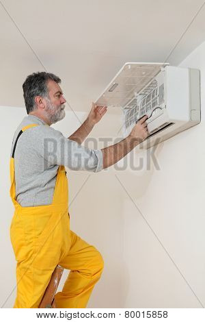 Air Condition Examine Or Install