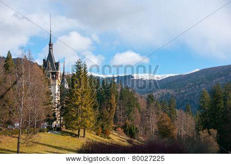 Peles Castle In Romania