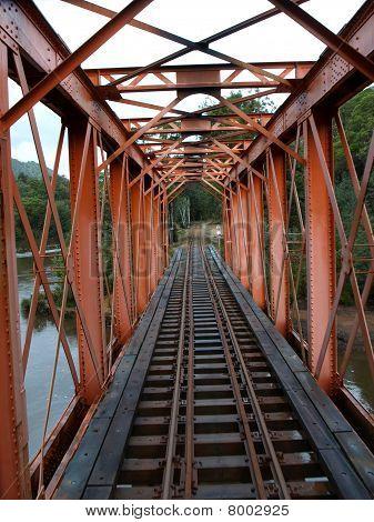 Puente del tren de vapor