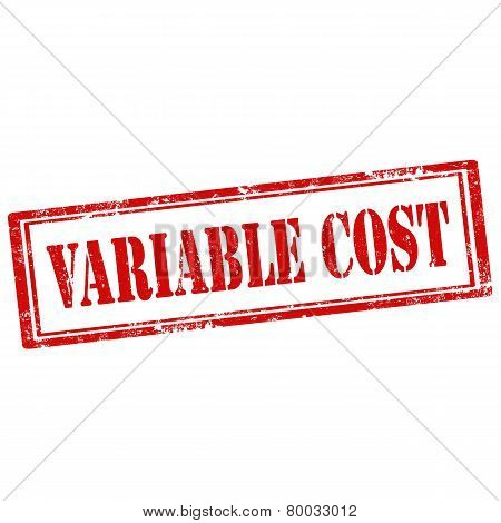 Variable Cost-stamp