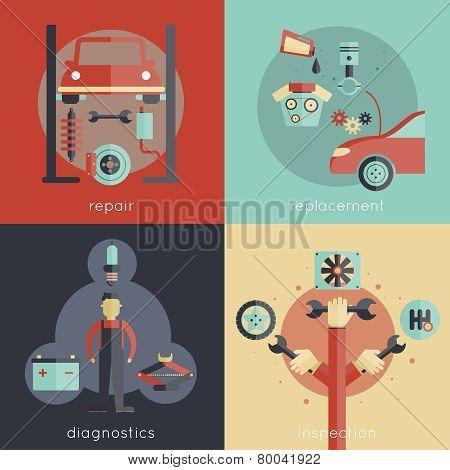 Auto Service Flat