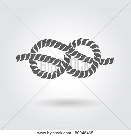 Rope Eight Knot