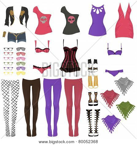 Female Glam Rock Clothes