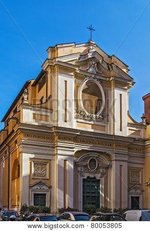 Chiesa Dei Santi Quaranta Martiri, Rome
