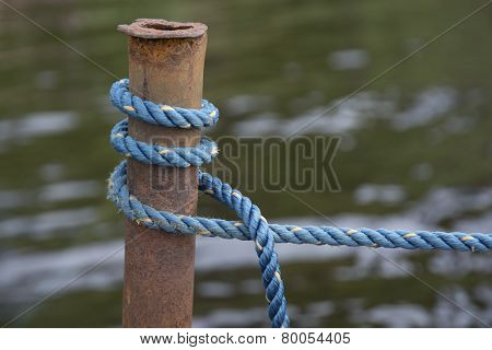 Blue Boating Knot