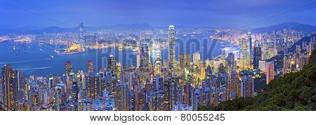 Hong Kong Panorama.