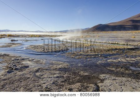 Hot springs called