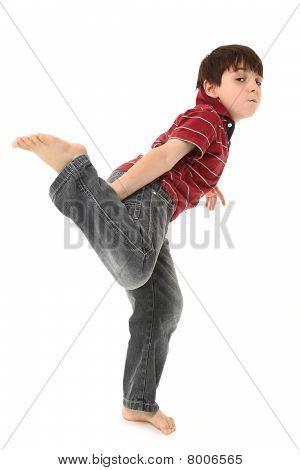 Silly Dancing Boy