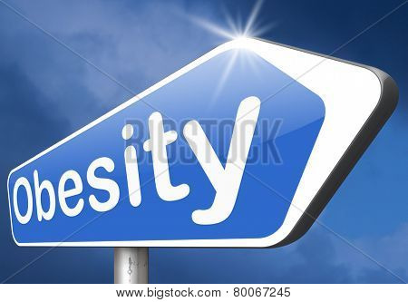 obesity and over weight or obese people