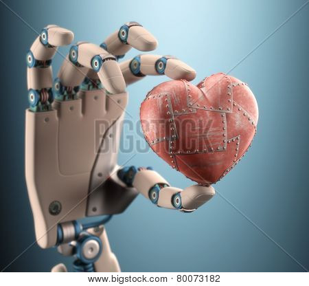Heart Of A Robot