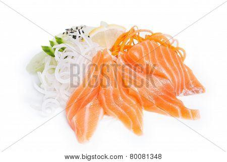 Sashimi Syake with salmon
