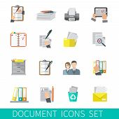 Постер, плакат: Document Icon Flat