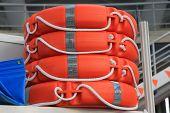 picture of nautical equipment  - Lifeguard belt - JPG