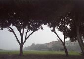 City Under Fog poster