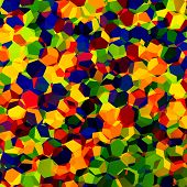 pic of colore  - Multicolored confetti - JPG