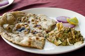 picture of indian food  - Indian cuisine in restaurant - JPG