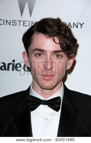 LOS ANGELES - JAN 11:  Matthew Beard at the The Weinstein Company / Netflix Golden Globes After Party at a Beverly Hilton Adjacent on January 11, 2015 in Beverly Hills, CA