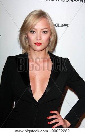 LOS ANGELES - JAN 11:  Pom Klementieff at the The Weinstein Company / Netflix Golden Globes After Party at a Beverly Hilton Adjacent on January 11, 2015 in Beverly Hills, CA