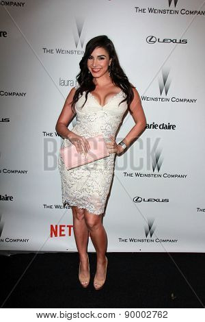 LOS ANGELES - JAN 11:  Mayra Veronica at the The Weinstein Company / Netflix Golden Globes After Party at a Beverly Hilton Adjacent on January 11, 2015 in Beverly Hills, CA