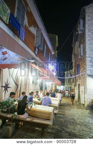 Restaurant In Rovinj