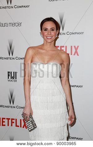 LOS ANGELES - JAN 11:  Keltie Knight at the The Weinstein Company / Netflix Golden Globes After Party at a Beverly Hilton Adjacent on January 11, 2015 in Beverly Hills, CA