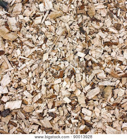 Woodchips Background