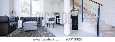 Panorama Of Sitting Room