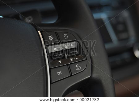 Cruise control button