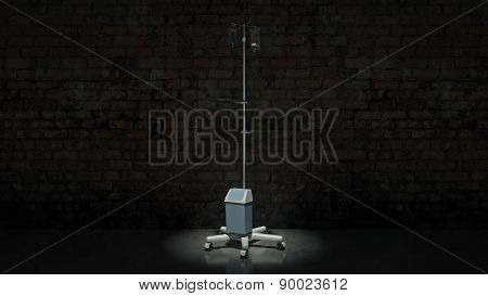 3d Rendering of a IV Pole