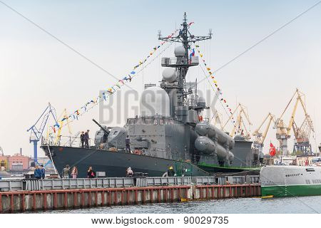 Project 1241.1 (nato: Tarantul-ii) Missile Corvette