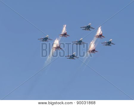 Strizhi And Russian Knights