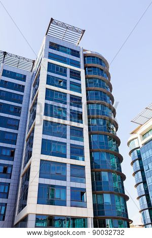 Modern Building With Glass Facade