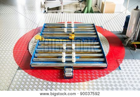 Turntable For Wrapping Pallets