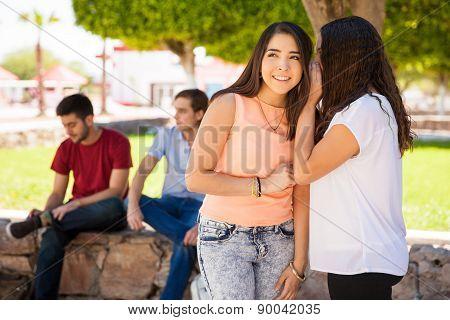 Gossip About Boys At School