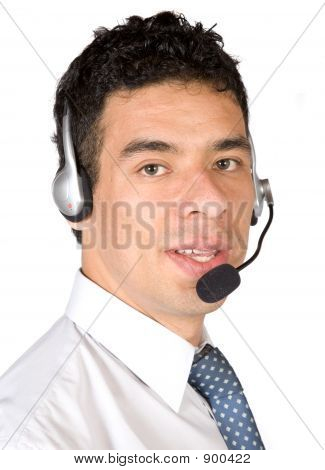 Business Customer Service Guy