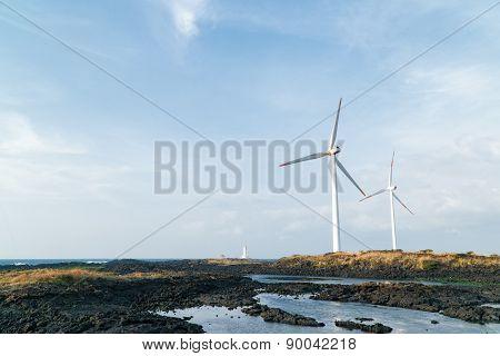Two Windgenerator