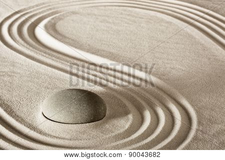 spa treatment concept japanese zen garden stones tao buddhism conceptual for balance harmony relaxation meditation wellness background harmony and purity stone stack sand pattern spiritual elements