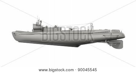Submarine Isolated