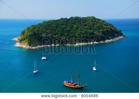Sail At Phuket Island, Thailand