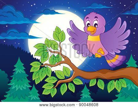 Bird topic image 3 - eps10 vector illustration.