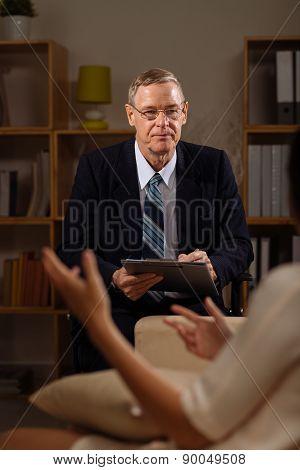 Senior psychiatrist