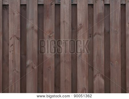Texture Of Old Brown Fence