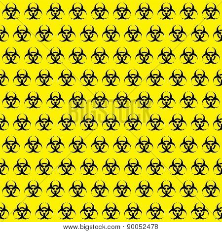 Bio Hazard Sign Pattern