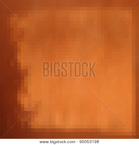 Orange Pixel Gradient Grunge Light Shadow Effect