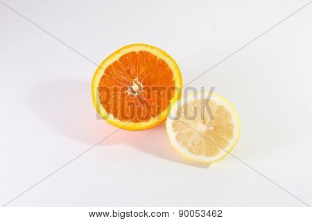 Half Lemon And Half Orange