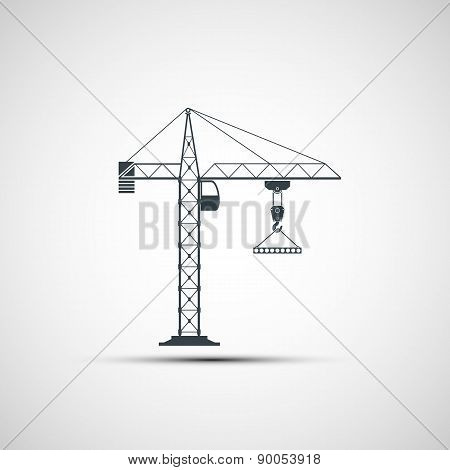 Icon Construction Crane.