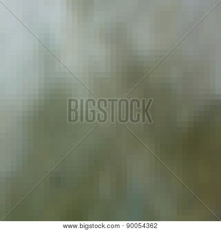 Pixel Hazy Blur Green Gray Light Effect Background