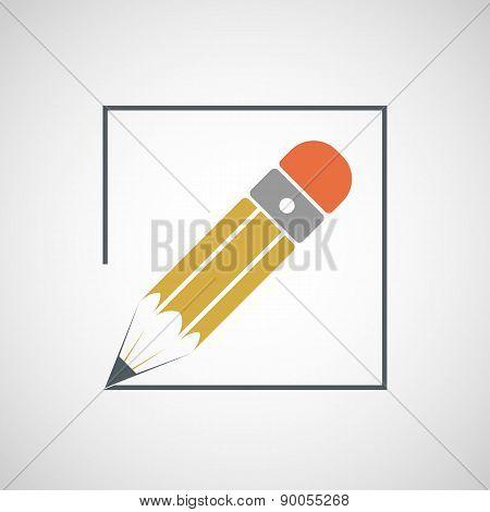 Icon Drawing Pencil.