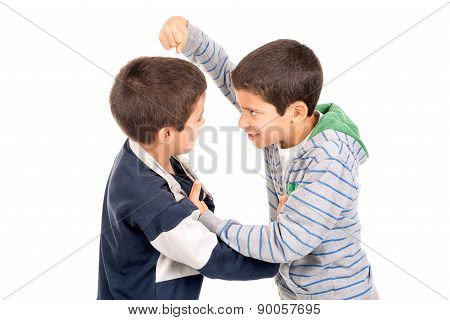Boys Fighting
