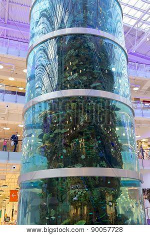 Aquarium In Mall Aviapark
